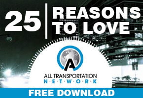 25 REASONS TO LOVE ALL TRANSPORTATION NETWORK