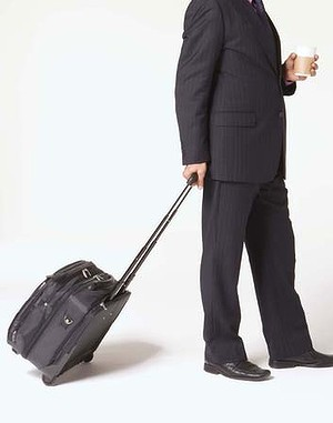business travel executive